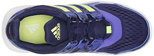 Adidas Performance Hyperfast 2.0 K de course à pied (petit Kid / big Kid) Midnight Indigo/Purple/Yellow/Semi Night Flash/Pur