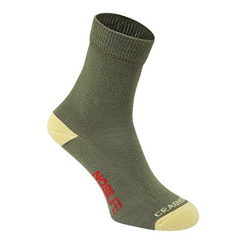 Craghoppers NosiLife Damen Reise-Socken mit Insektenabwehr (39-42 EU) (Helles Moos/Zitrone)