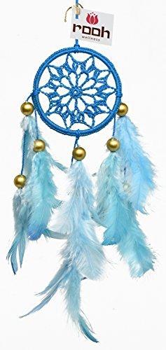 Sky Blau Crochet ~ Handgefertigt wandbehängen für Positive (Kann als Home Décor Akzente, Wandbehänge, Garten, Auto, Outdoor, Schlafzimmer, Schlüsselanhänger) ()