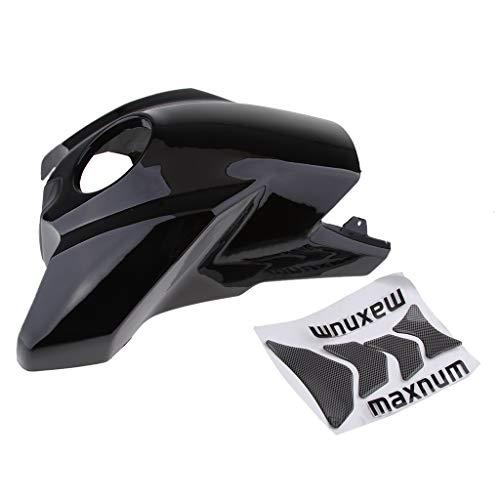 B Blesiya Motorrad Tankdeckel + Tankschutz Kit Motorradverkleidung Benzin Tankdeckel für Motorrad