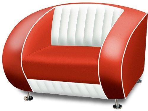 Amerikanischer Sessel retro style Möbel usa 50er Sofa Designer Sessel