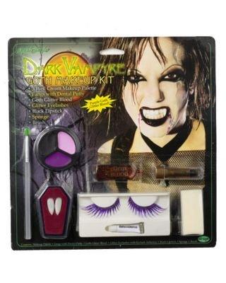 Kost-me f-r alle Gelegenheiten FW9552V Goth Makeup Kit Vampire