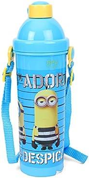 Minion Despicable Plastic Water Bottle, 400ml, Blue