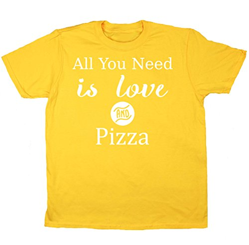hippowarehouse-all-you-need-is-love-and-pizza-kids-short-sleeve-t-shirt
