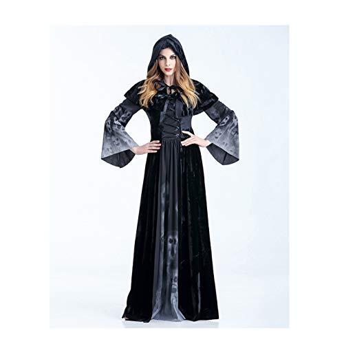 Kostüm Friedhof Girl - T682541 Loli Fräulein Girls Halloween Vampire Kostüme Gothic Victorian Medieval Hooded