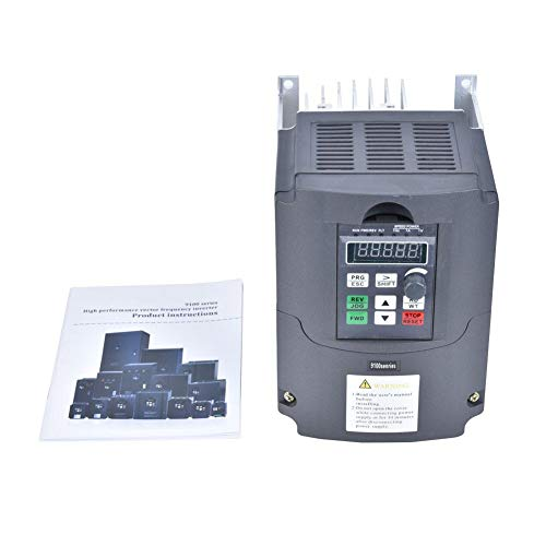 Inverter pompa acqua solare, ingresso CC VFD 400-700 V, uscita trifase AC380V, convertitore di frequenza generatore fotovoltaico da CC a CA, controller MPPT, controllo PWM, IP20(0.75KW)