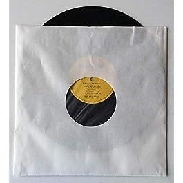 Qtà 25 – Manicotti (LP) 12″ BIANCO Foderato pellicola Antistatica – Antimuffa – Antistrucciolo