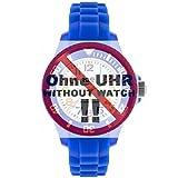Ice-Watch Uhrband Wechselarmband Original Ersatzband MN S.12 Uhrenarmband Silikon 12 mm Blau