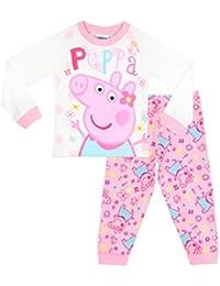 Peppa Pig Girls Peppa Pig Pyjamas Ages 18 Months to 8 Years
