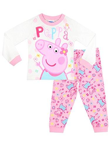 Peppa Wutz Mädchen Peppa Pig Schlafanzug 104cm