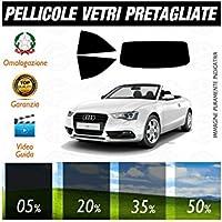Audi A5 Cabrio 10-15 Pellicole Oscuramento Vetri Auto Pre Tagliate a Misura - 50% - Audi A5 Cabrio