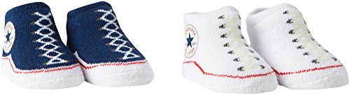 converse-unisex-baby-socken-2-pack-booties-0-6-monate-blau-althletic-navy-converse-white