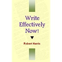 How to Write Well by Robert Harris (2014-02-02)