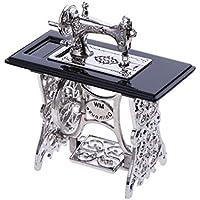 KESOTO Modelo de Máquina de Coser Miniatura Vintage para 1/12 Decoración de Muebles Casa