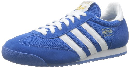 adidas Originals Dragon, Herren Sneakers, Blau (Bluebird/White/Metallic Gold), 42 EU (8 Herren UK) (Dragon Originals Adidas)