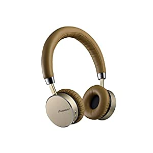 Pioneer SE-MJ561BT-T Bluetooth Wireless Headphones with NFC Connectivity - Tan