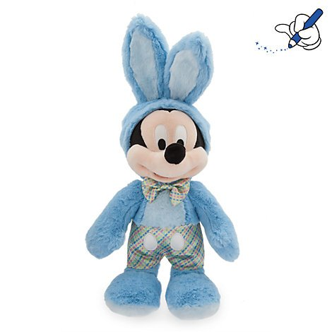 Disney Mickey Mouse Oster Easter Plüsch Plush Hellblau (Mickey Maus Plushs)
