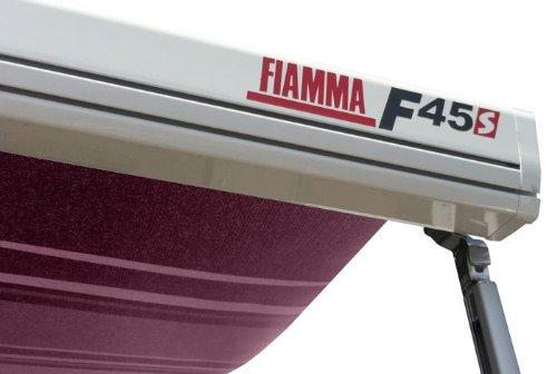 Preisvergleich Produktbild Fiamma Campingartikel F45S 400 cm Wohnmobil Markise Himmel,  Polar Weiß / Bordeaux (06280 C01d)