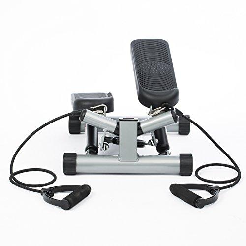 Ultrasport Swing Stepper, Twister, Ministepper inkl. Trainingsbändern - 3