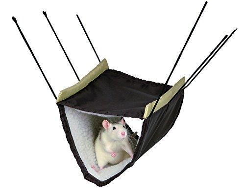 Trixie Hängematte mit zwei Etagen für Frettchen/Ratten, 22x 15x 30cm, 1Stück