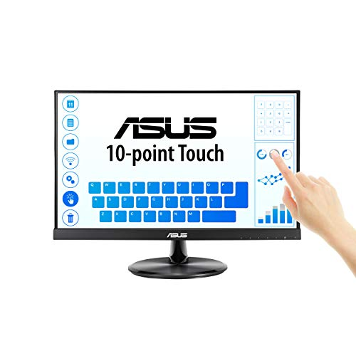 """VT229H Monitor 1080P 10 Point Touch - ASUS VT229H 21.5"""" Monitor 1080P IPS 10-Point Touch Eye Care with HDMI VGA"""