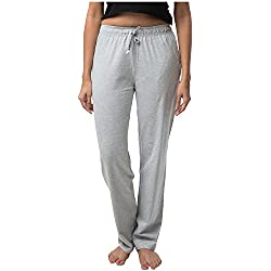 Nite Flite Women's Grey Cotton Pajamas
