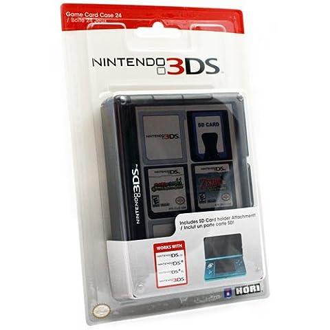 Nintendo 3DS - Game Card Case (24 Spiele) [New Nintendo 3DS, Nintendo 3DS, Nintendo DS] schwarz