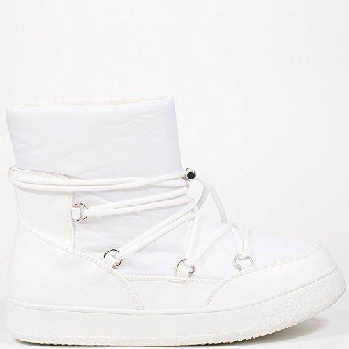 Ideal Shoes ,  Stivali donna Bianco