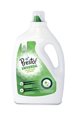 Marque Amazon- Presto! Lessive liquide Universal, 176 Lavages (4 packs de 44 lavages)