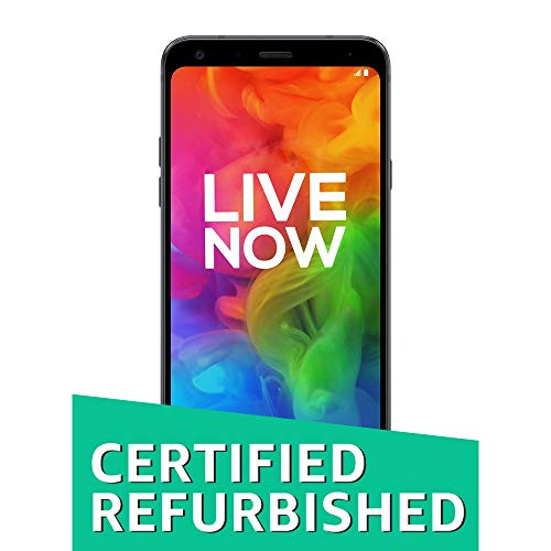 (CERTIFIED REFURBISHED) LG Q7 (Aurora Black, 32GB)