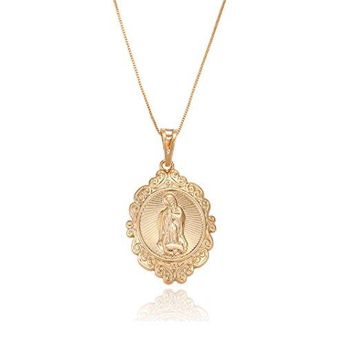 Heilige Maria Magdalena Kette, 18K echt vergoldet Callissi Schmuck (45)