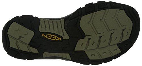 Keen Newport H2 M, Sandales Plateforme Homme Marron (Black Olive/brindle)