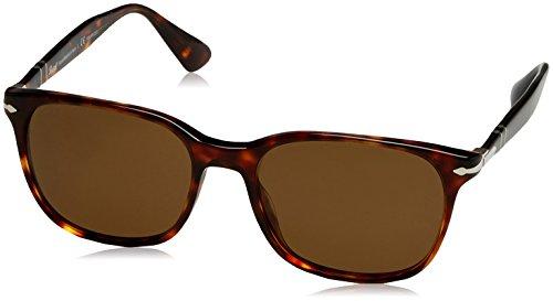 Persol Herren 3164 Sonnenbrille, Braun (Havana/Polarbrown), 56
