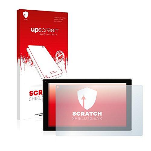 upscreen Scratch Shield Clear Schutzfolie (Blaupunkt, Endeavour 101M, Kratzfest, transparent, 1 Stück)