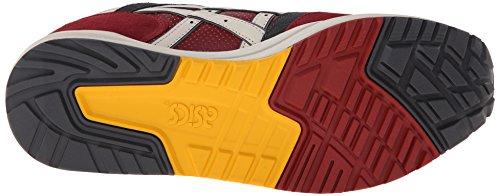 Asics Gel-Saga Retro Classic Running Sneaker Burgundy/Off-White