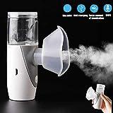 XGL A Basso Rumore Mini Nebulizzatore, Handheld Ultrasuoni Inalatori al Vapore, Portatile Elettrici Nebulizzatori, Spegnimento Intelligente, Pulizia Automatica