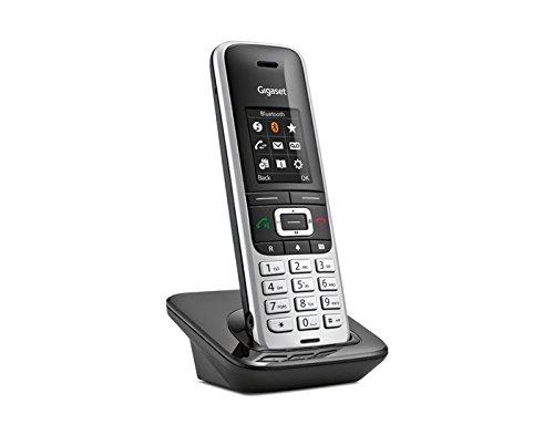 Gigaset S850HX Telefono Cordless DECT Aggiuntivo, Nero