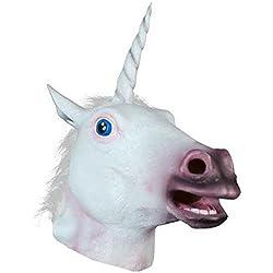THEE Máscara de Unicornio Disfraces de Fiesta