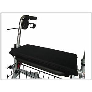 Sitzkissen für Rollator Rollatorkissen Rollatorsitzkissen – Dunkelgrau