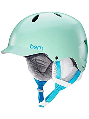 Bern Girl's Bandita All Season Helmet - Satin Mint Green, Small/Medium/51.5 - 54.5 cm by Bern