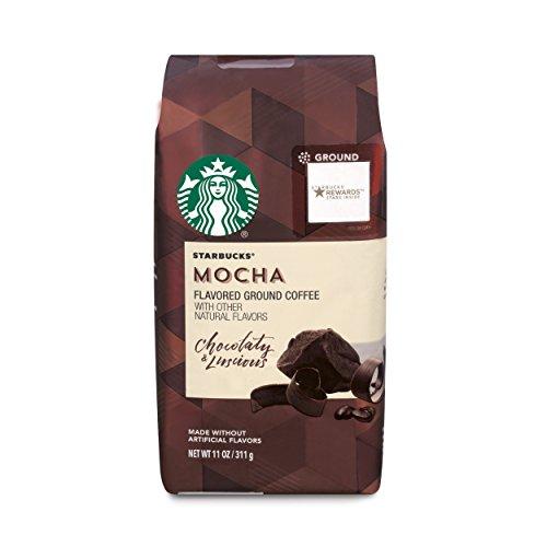 A photograph of Starbucks Mocha