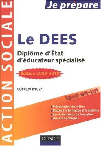 Le DEES : Diplôme d'Etat d'éducateur spécialisé