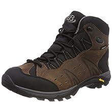 Bruetting Unisex Adults' Mount Bona High Classic Rise Hiking Shoes, Brown Brown Brown, 5 UK