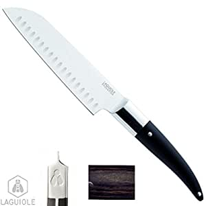 laguiole luxus santoku messer 34 18cm zum pr zisen schneiden mischen bakelite holz harz griff. Black Bedroom Furniture Sets. Home Design Ideas