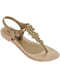 Zapatos con hebilla étnicos Grendha para mujer QTfRA