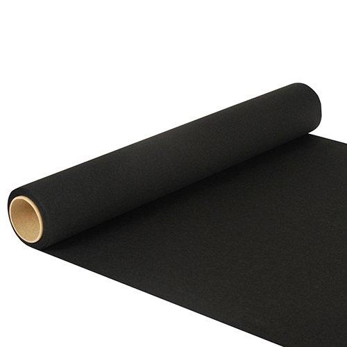 PAPSTAR NEU Tischläufer schwarz, 500 x 40 cm, reißfest