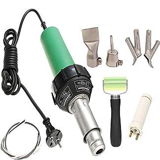 Beyondlife soldador de aire caliente Plástico Pistola profesional PVC vinilo Rod soldadura herramienta 1600W