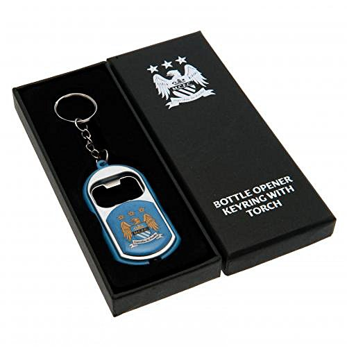 Manchester City F.C. Porte-clés, bleu (bleu) - TFS-29454