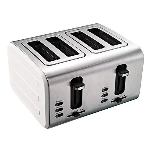 SXSHYUFG Grille Pain Toaster, Grille-Pain 4 Fentes, 6 Niveaux de...