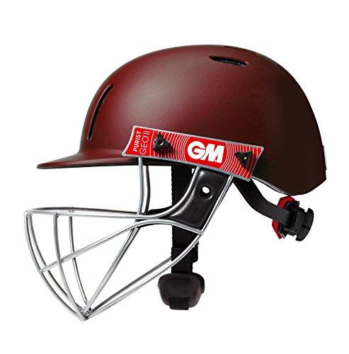 GM Purist Geo II Cricket-Helm, Unisex, Purist Geo II Helmet, kastanienbraun